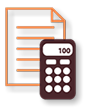 Tax preparation icon